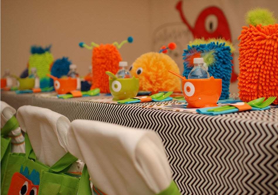 Monster Birthday Party Decorations  Little Monster Birthday Party Guest Feature