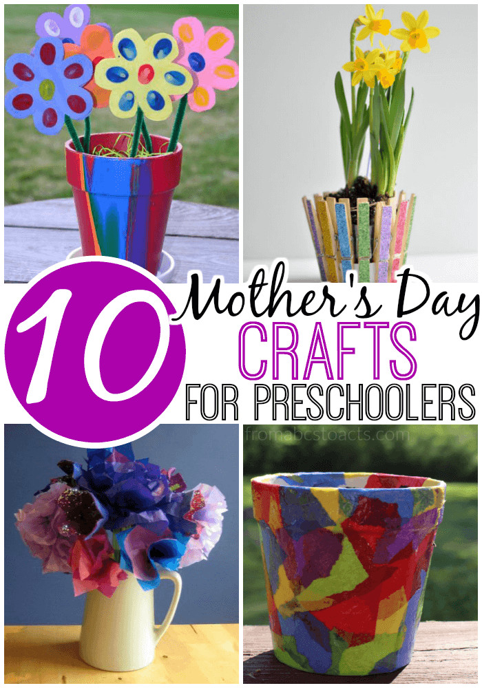 Mother Day Craft Ideas For Preschoolers  10 Mother s Day Crafts for Preschoolers