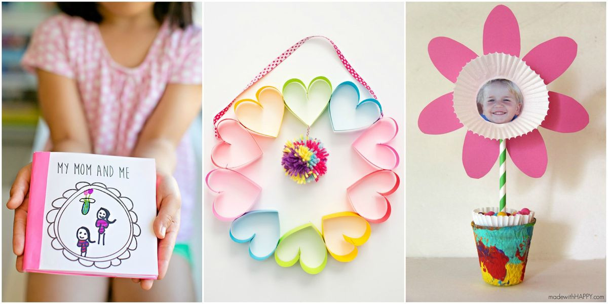 Mother Day Craft Ideas For Preschoolers  25 Cute Mother s Day Crafts for Kids Preschool Mothers