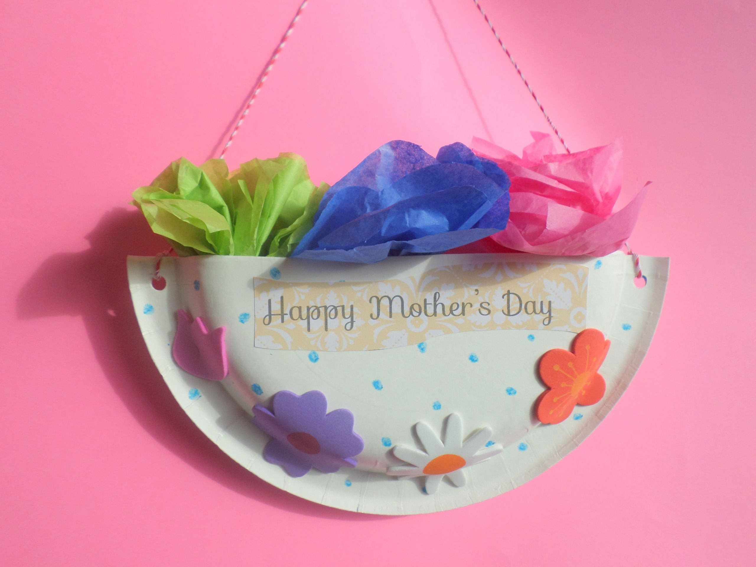 Mother Day Craft Ideas For Preschoolers  Mother's Day Craft for preschoolers