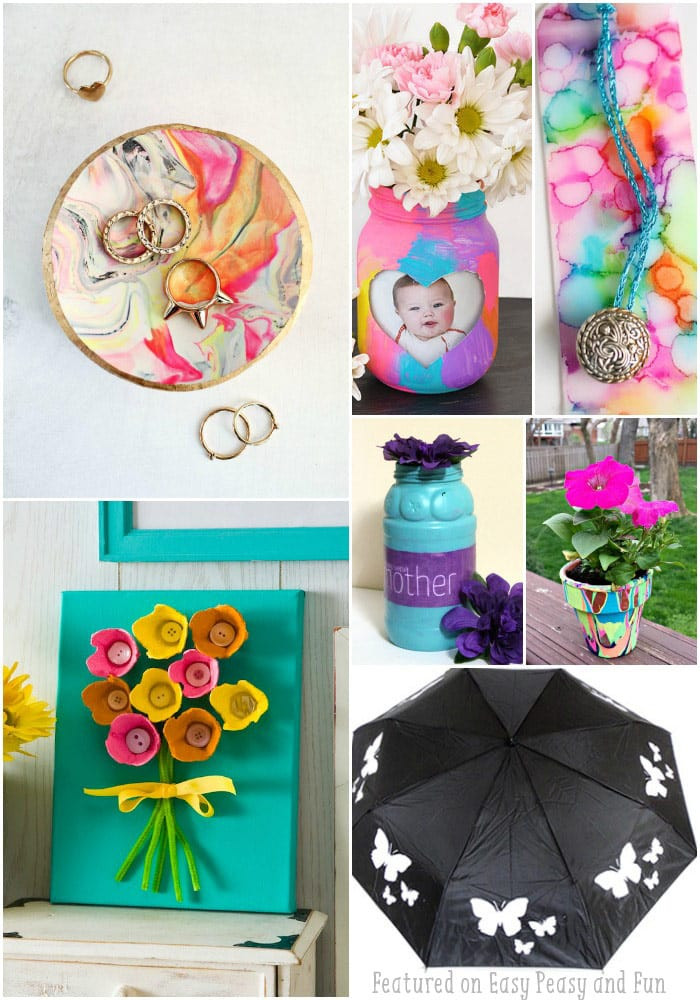 Mother Day Craft Ideas For Preschoolers  25 Mothers Day Crafts for Kids Most Wonderful Cards
