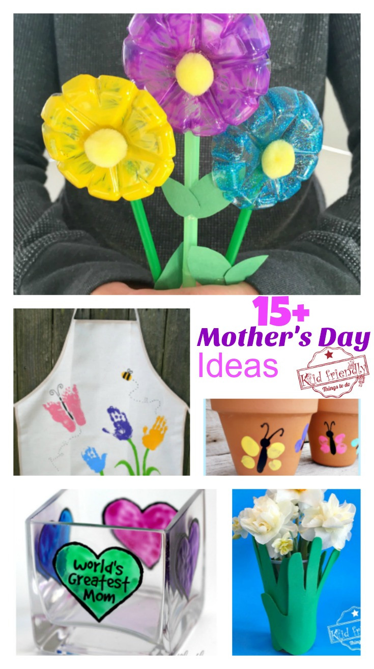 Mother Day Craft Ideas For Preschoolers  Over 15 Mother s Day Crafts That Kids Can Make for Gifts