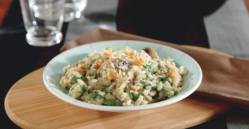 Mushroom Spinach Risotto  Spinach and Mushroom Risotto Recipe Diabetes Self Management