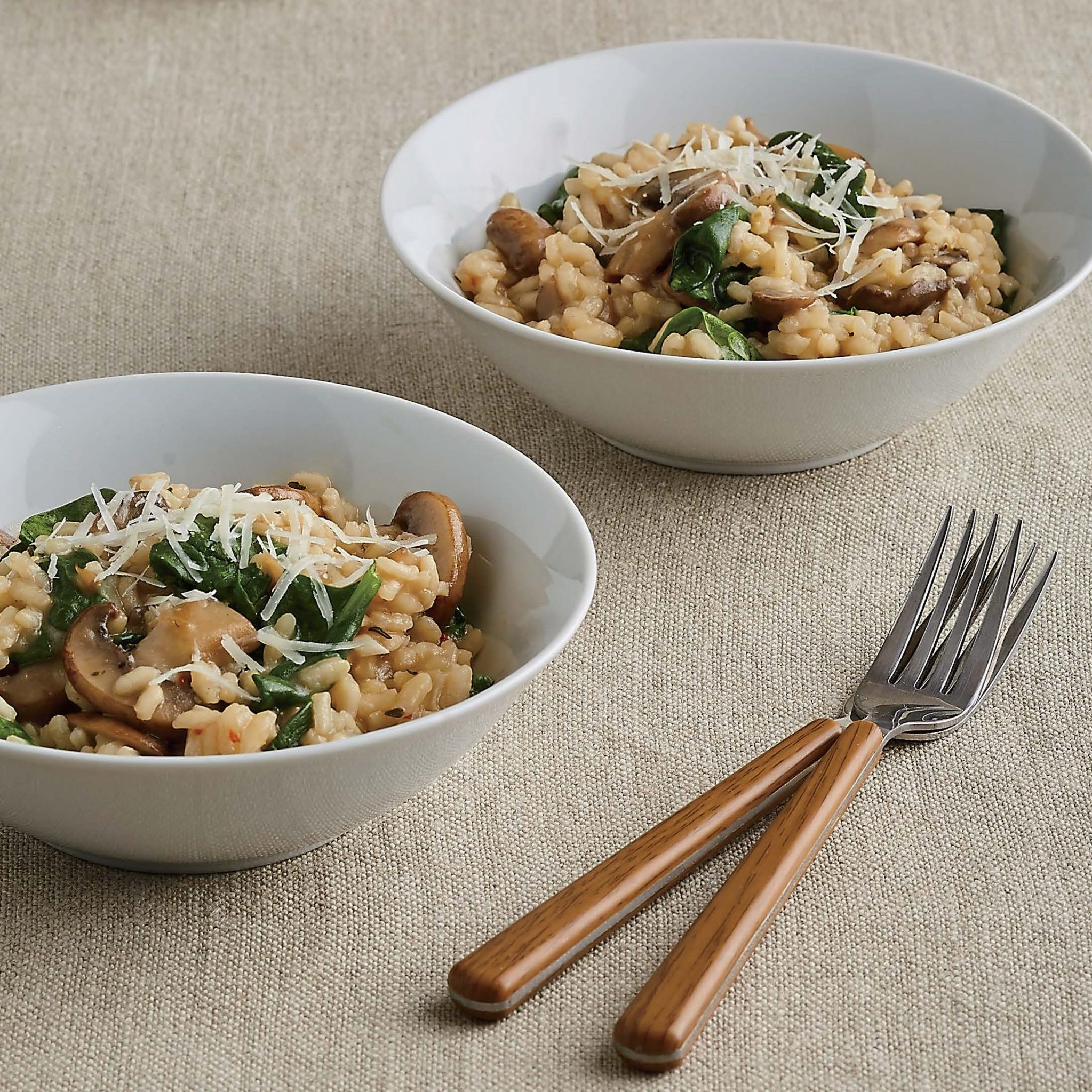 Mushroom Spinach Risotto  Mushroom and Spinach Risotto – Recipes InstantPot