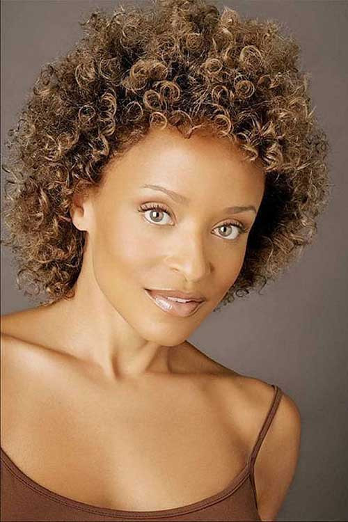 Naturally Curly Hair Hairstyles  15 Easy Hairstyles For Short Curly Hair