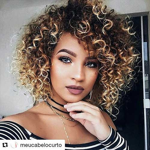 Naturally Curly Hair Hairstyles  30 Cool Short Naturally Curly Hairstyles
