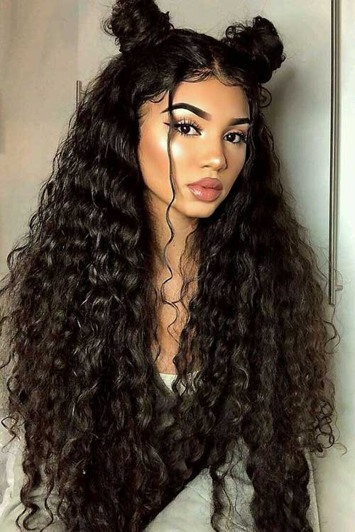 Naturally Curly Hair Hairstyles  Best Long Curly Hairstyles for Women 2019