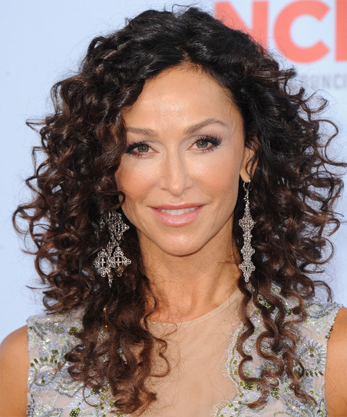 Naturally Curly Hair Hairstyles  Dewi Image Casual Long Curly Hairstyles