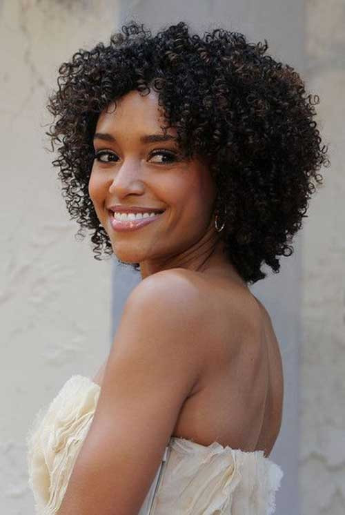 Naturally Curly Hair Hairstyles  20 Naturally Curly Short Hairstyles