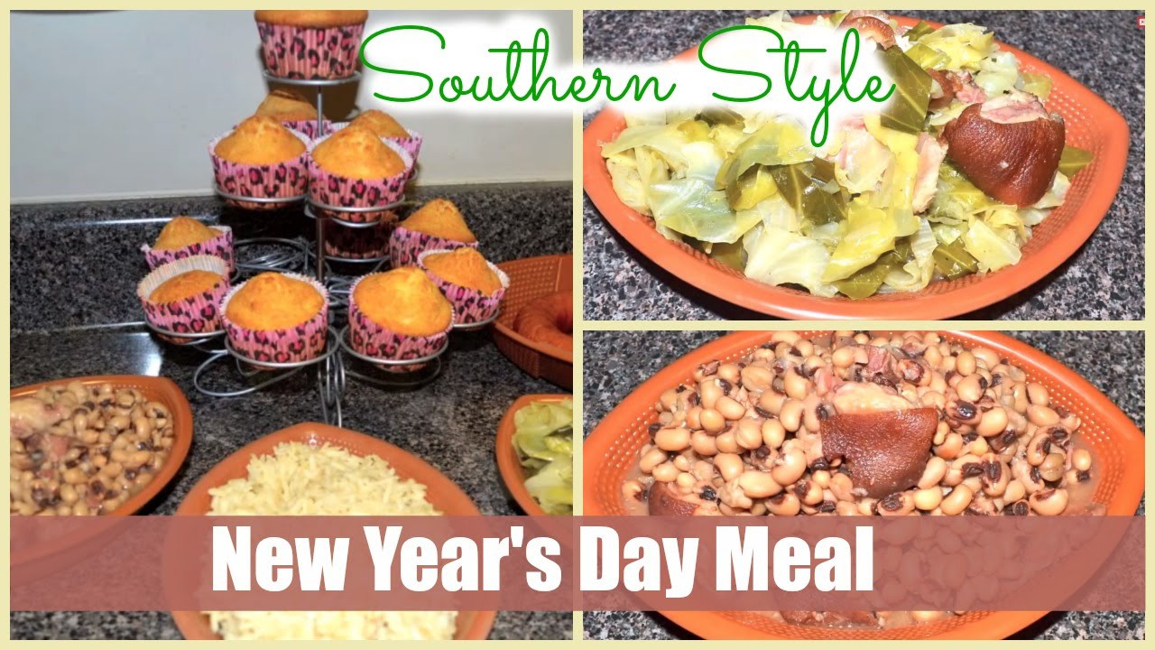 New Year Day Dinner Traditions  Traditional Southern Cooking New Year s Day Meal