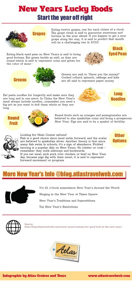 New Year Day Dinner Traditions  1000 images about New Year s Traditions from Around the