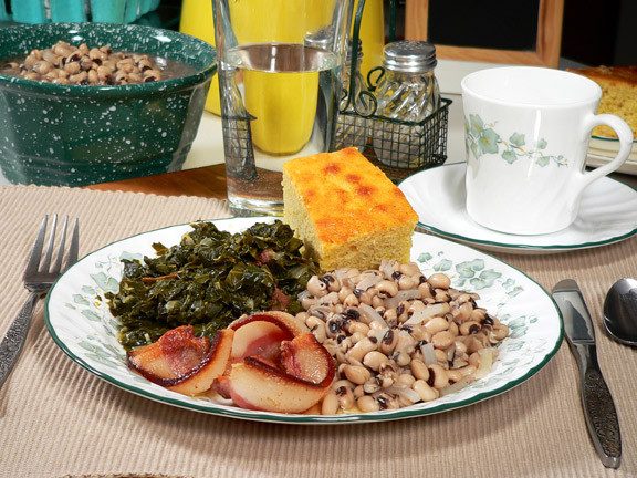 New Year Day Dinner Traditions  Recipe of the Week Lucky New Year s Day Menu The Aha