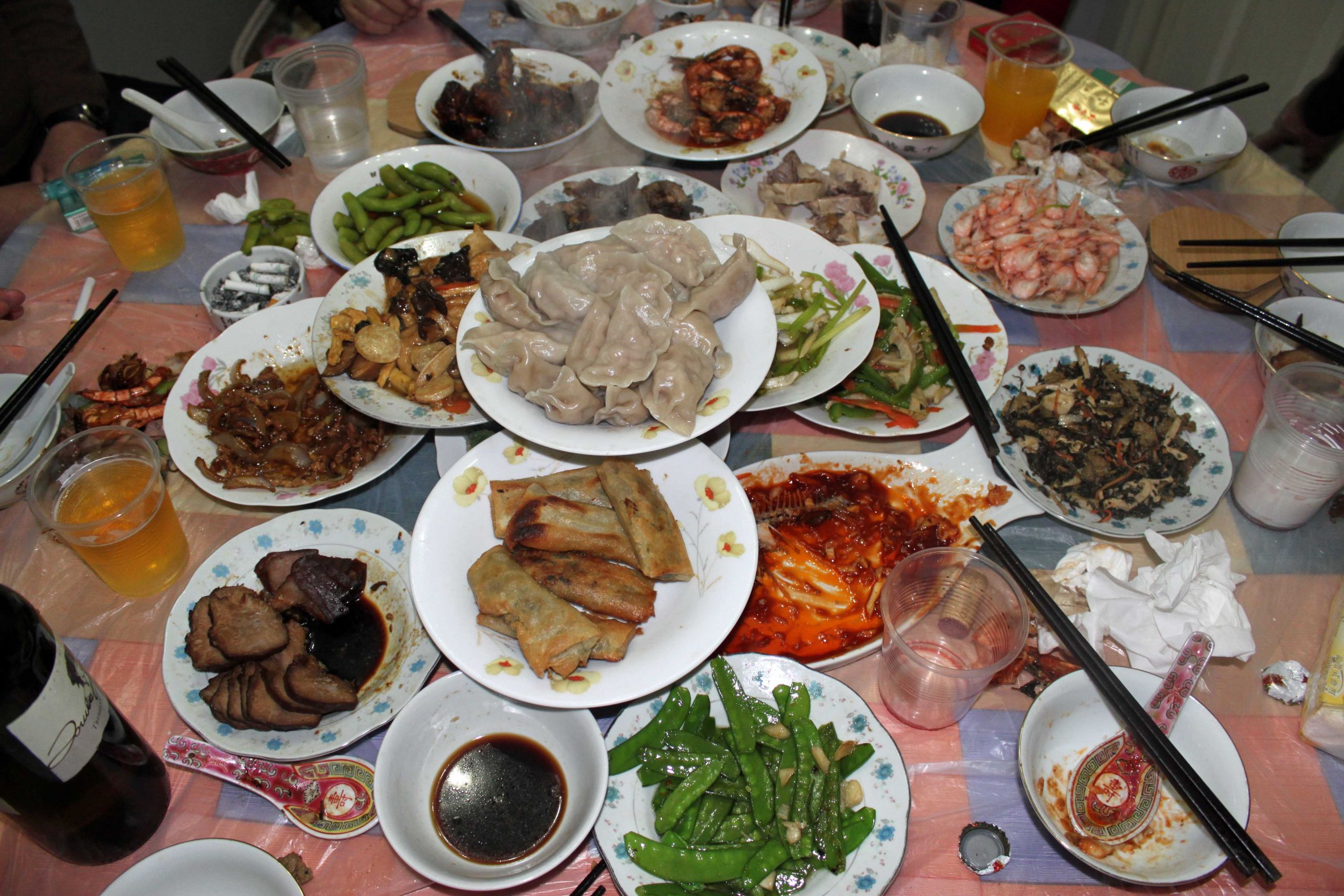 New Years Eve Dinners  year of the dragon