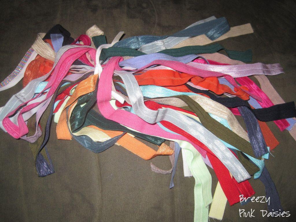 No Crease Hair Ties DIY  DIY No Crease FOE Hair Ties