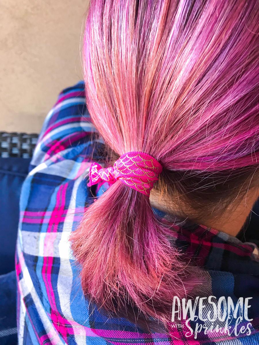 No Crease Hair Ties DIY  no crease hair ties 18 Awesome with Sprinkles