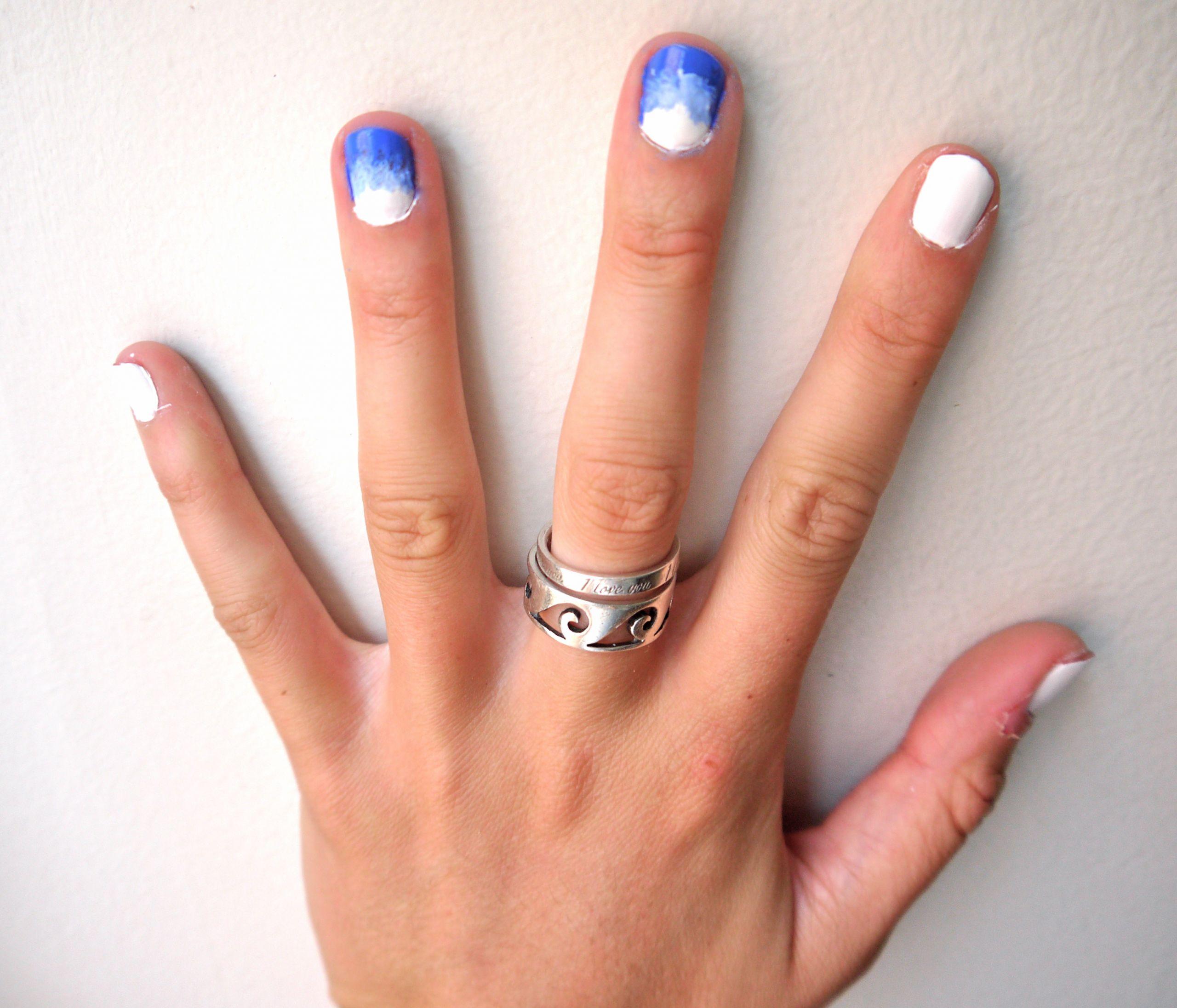 Ombre Nail Colors  diy ombre nail polish – pumps & iron