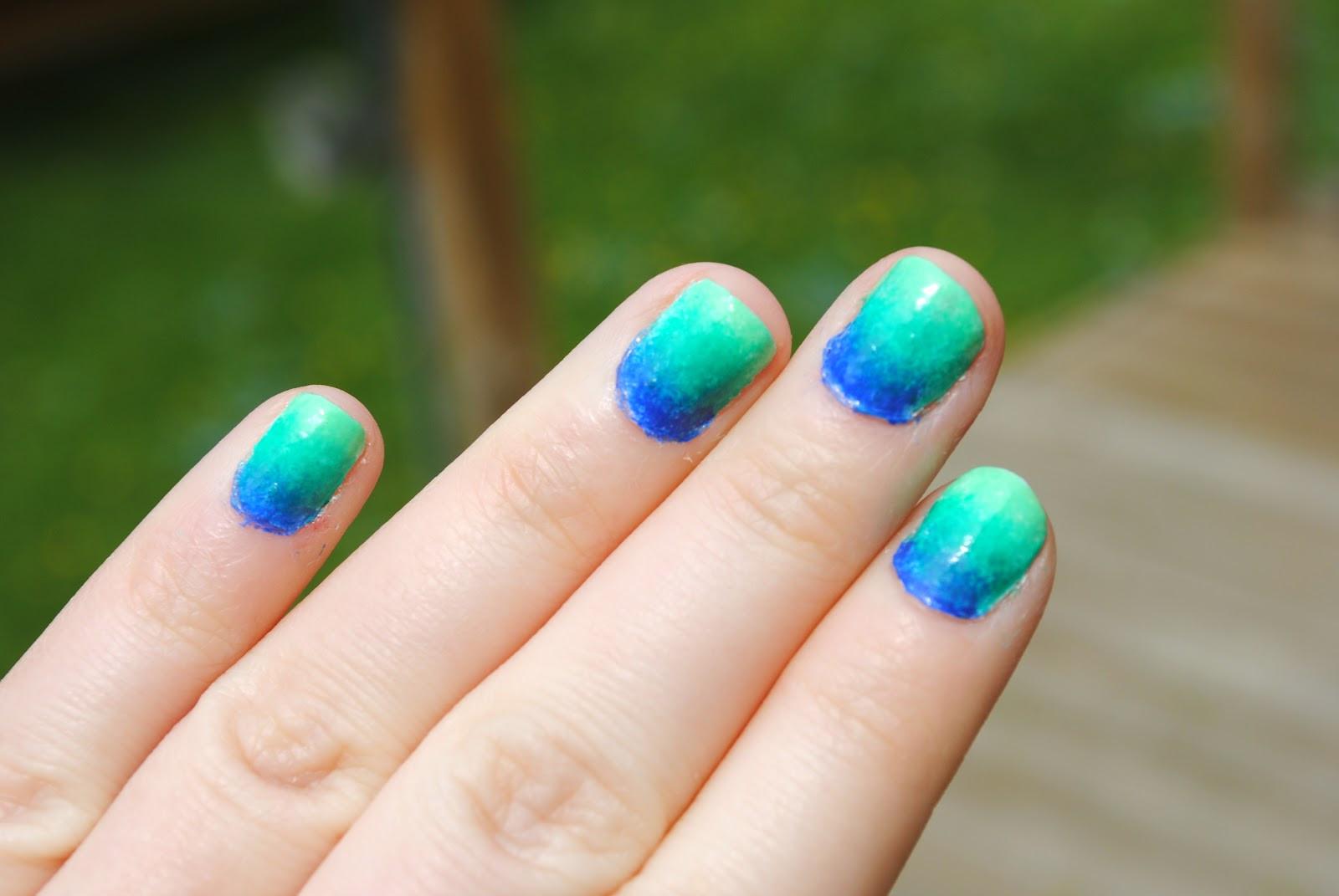 Ombre Nail Colors  love & sunshine & nail polish Ombre Nails