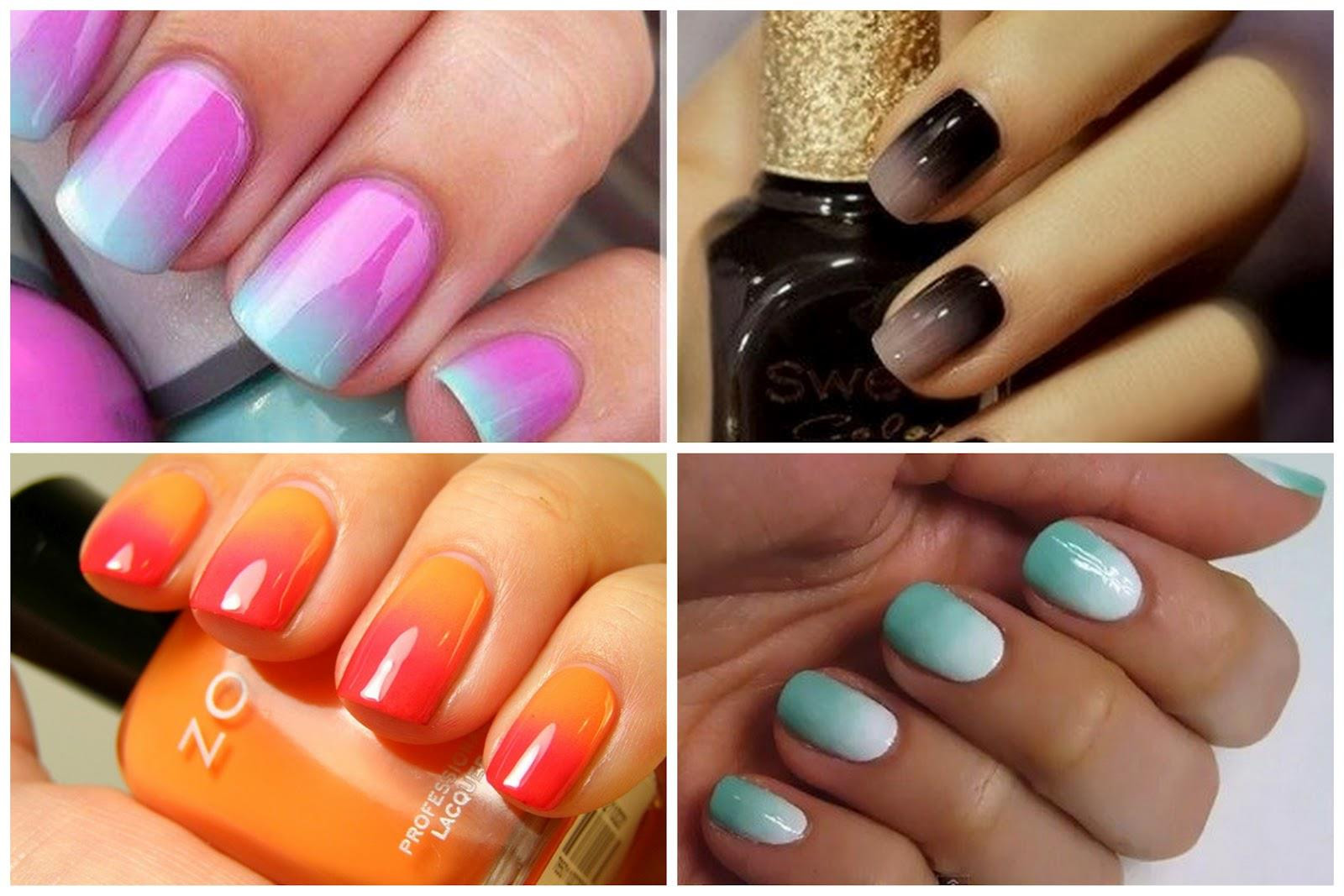 Ombre Nail Colors  How to Get Ombre Nails At Home Delux Magazine