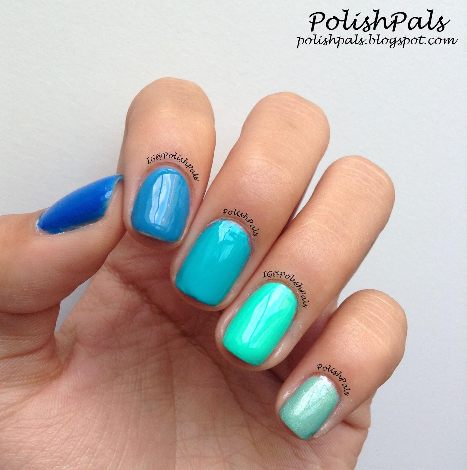Ombre Nail Colors  Polish Pals Ombre Nails