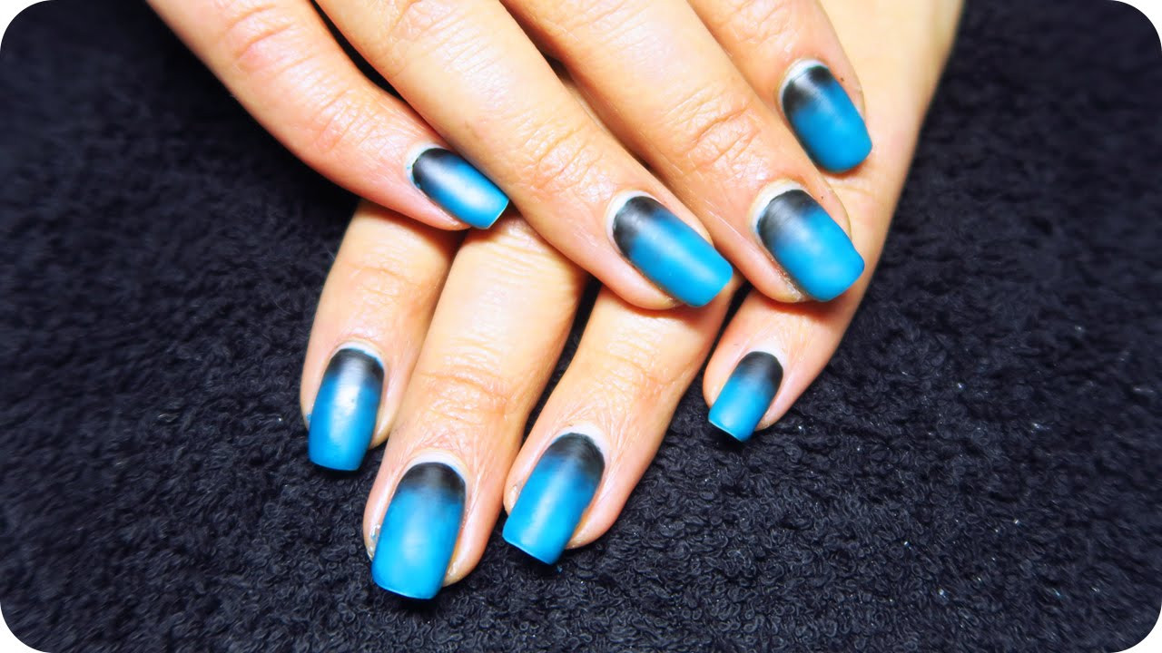Ombre Nail Colors  Matte Ombre nails with Gel Polish How to Gel Nails at