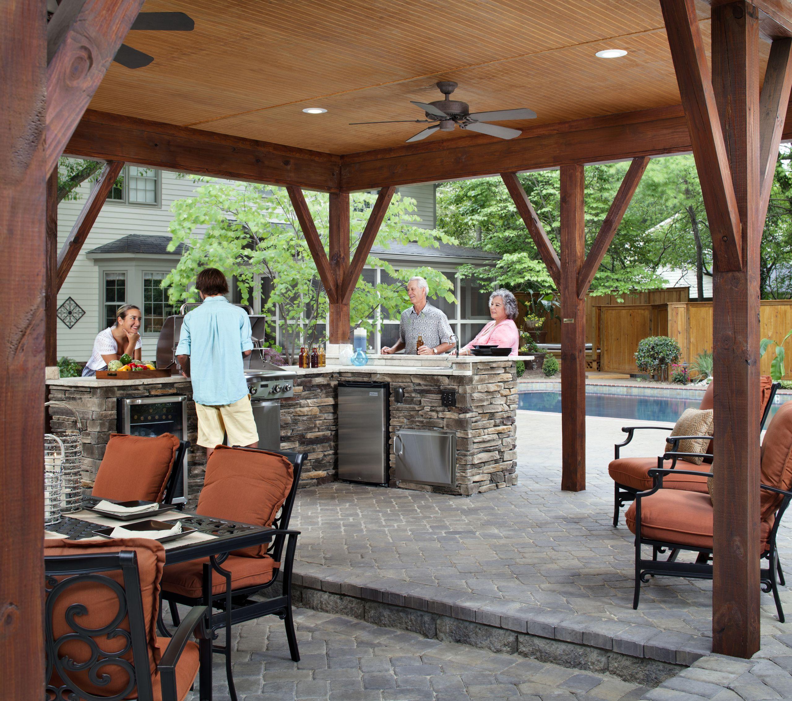 Outdoor Kitchen Deck  Columbia SC outdoor kitchens