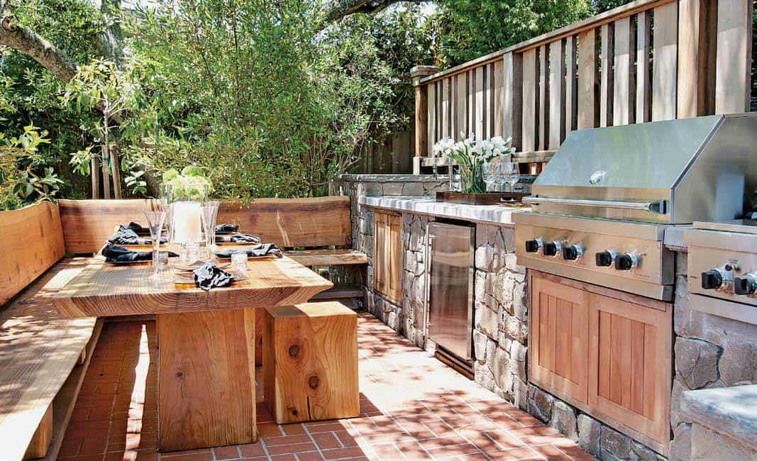 Outdoor Kitchen Deck  101 Outdoor Kitchen Ideas and Designs s