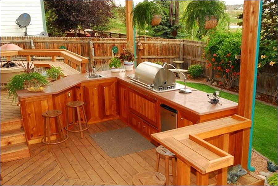 Outdoor Kitchen Deck  Reasons to make Outdoor kitchen on deck