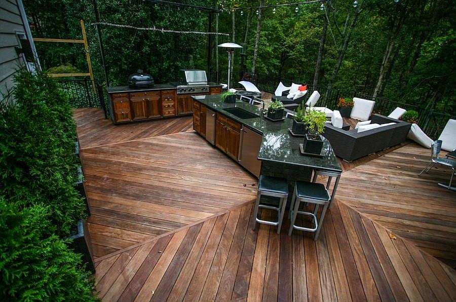 Outdoor Kitchen Deck  Designing the Perfect Outdoor Kitchen