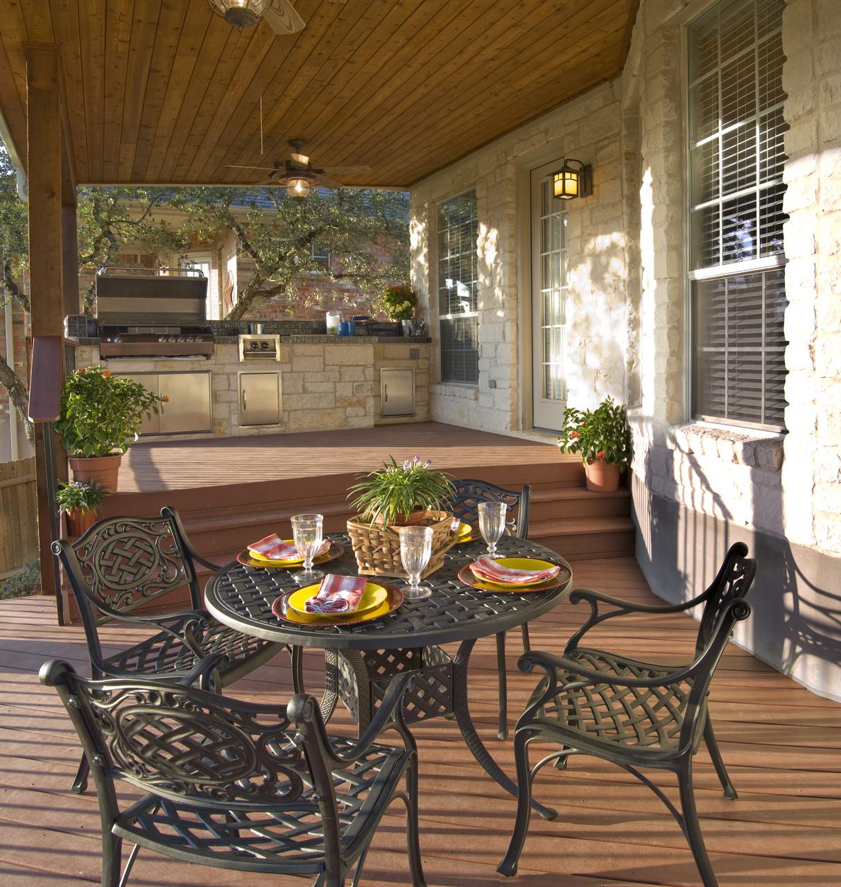 Outdoor Kitchen Deck  Outdoor Kitchen Design Ideas – with a Multi Level Deck