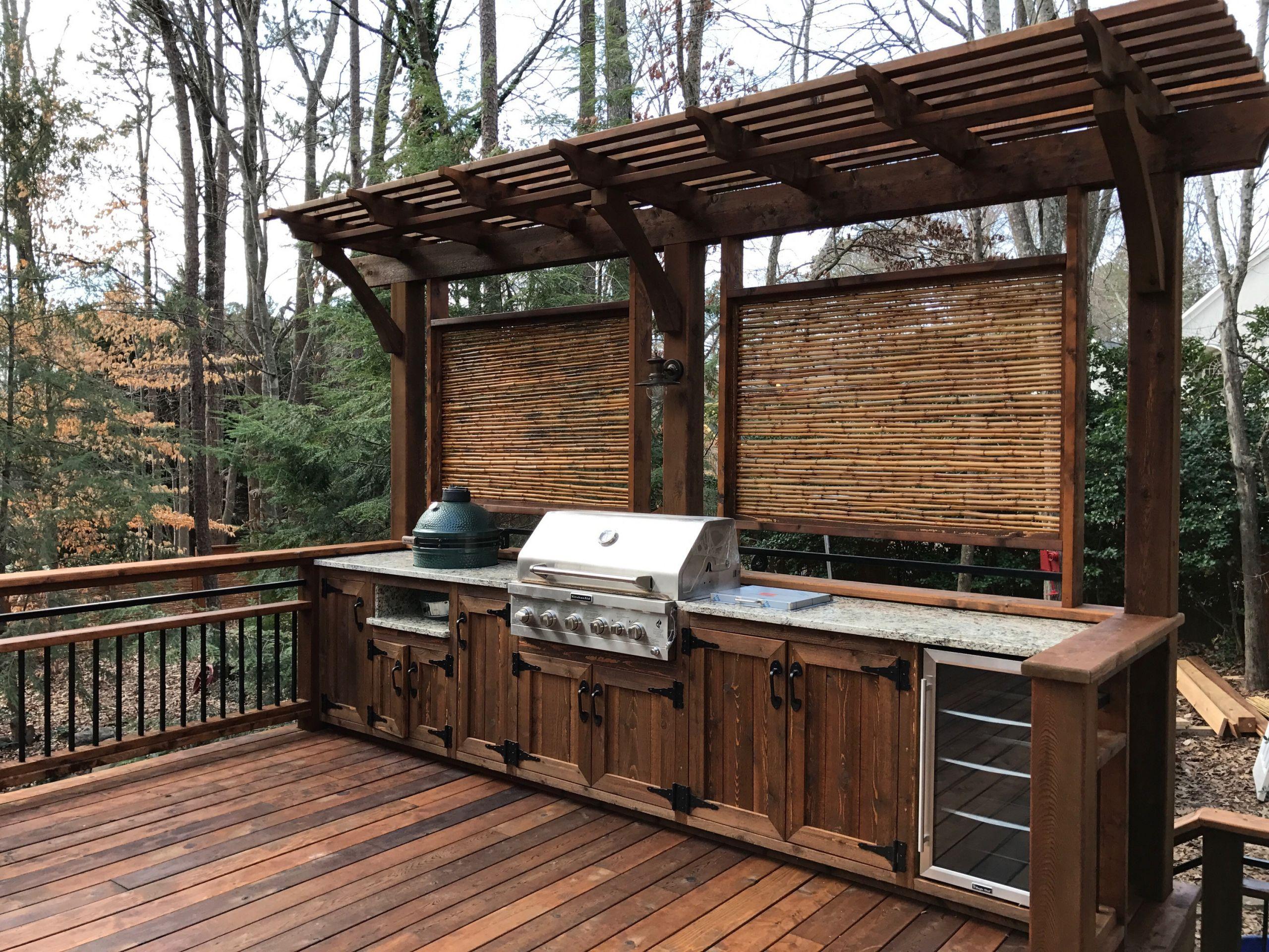 Outdoor Kitchen Deck  Dreamy Outdoor East Cobb Kitchen