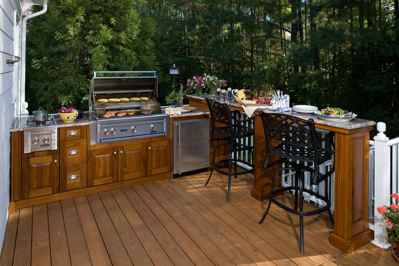 Outdoor Kitchen Deck  Outdoor Kitchens The Hot Tub Factory Long Island Hot Tubs