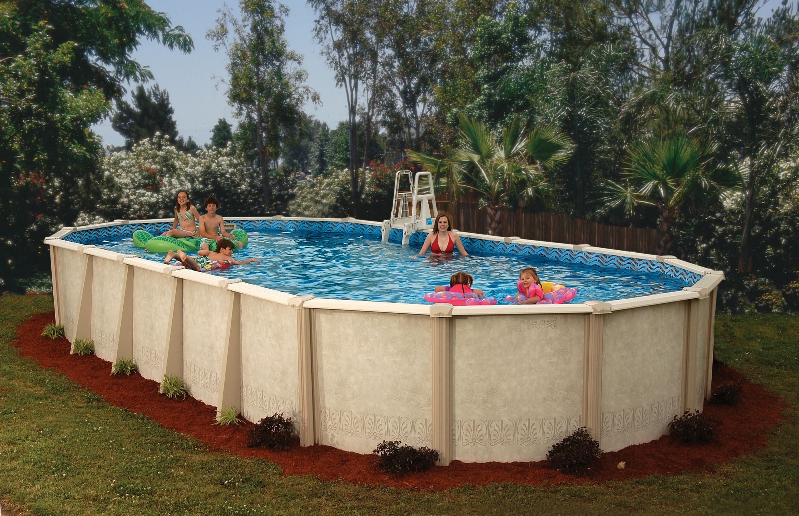 Oval Above Ground Pool  Doughboy Pools