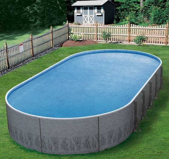 Oval Above Ground Pool  Insulated Ground Swimming Pools