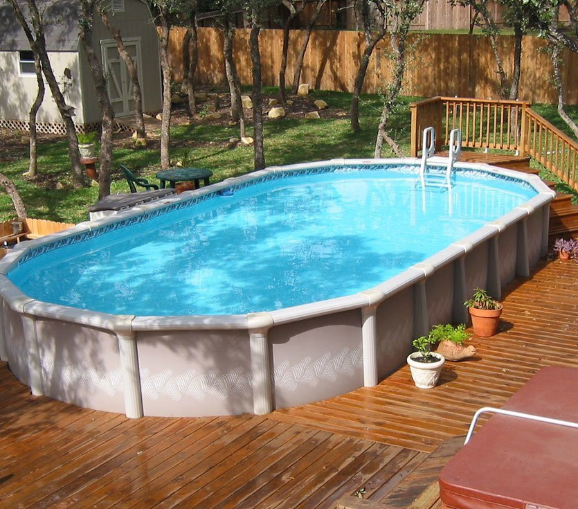 Oval Above Ground Pool  7 Reasons To Choose An Ground Pool