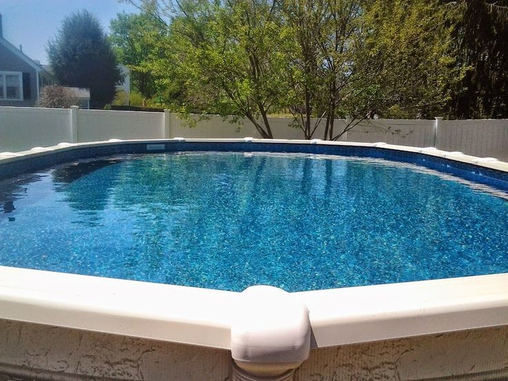 Oval Above Ground Pool  17 Best images about Our Ground Pool on