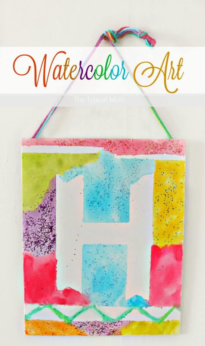Paint Ideas For Preschoolers  Watercolor Painting Ideas · The Typical Mom