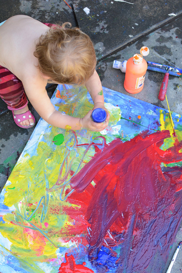 Paint Ideas For Preschoolers  The Best Art Ideas and Art Projects of 2014 Meri Cherry