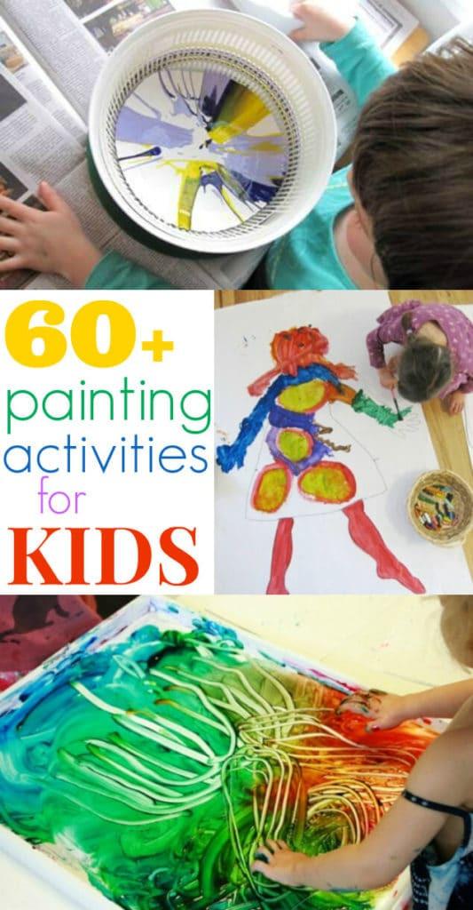 Paint Ideas For Preschoolers  Painting Activities for Kids 60 Ideas The Artful Parent