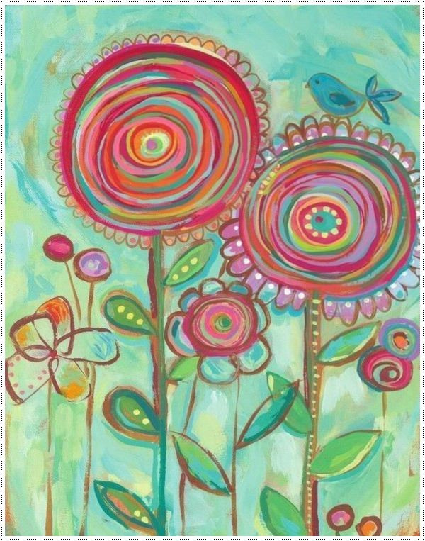 Paint Ideas For Preschoolers  40 Awesome Canvas Painting Ideas for Kids