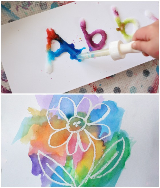 Paint Ideas For Preschoolers  25 Awesome Art Projects for Toddlers and Preschoolers