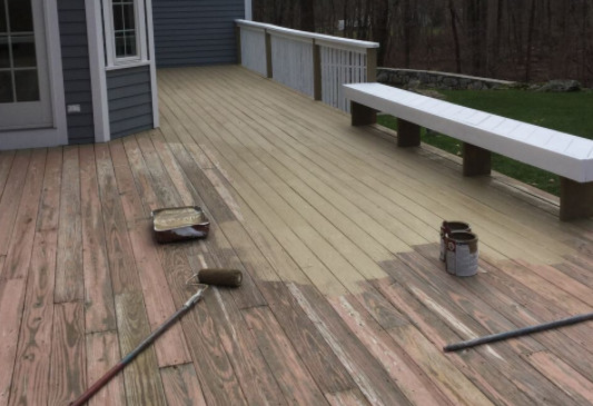 Paint My Deck  Is It Better to Paint or Stain My Deck