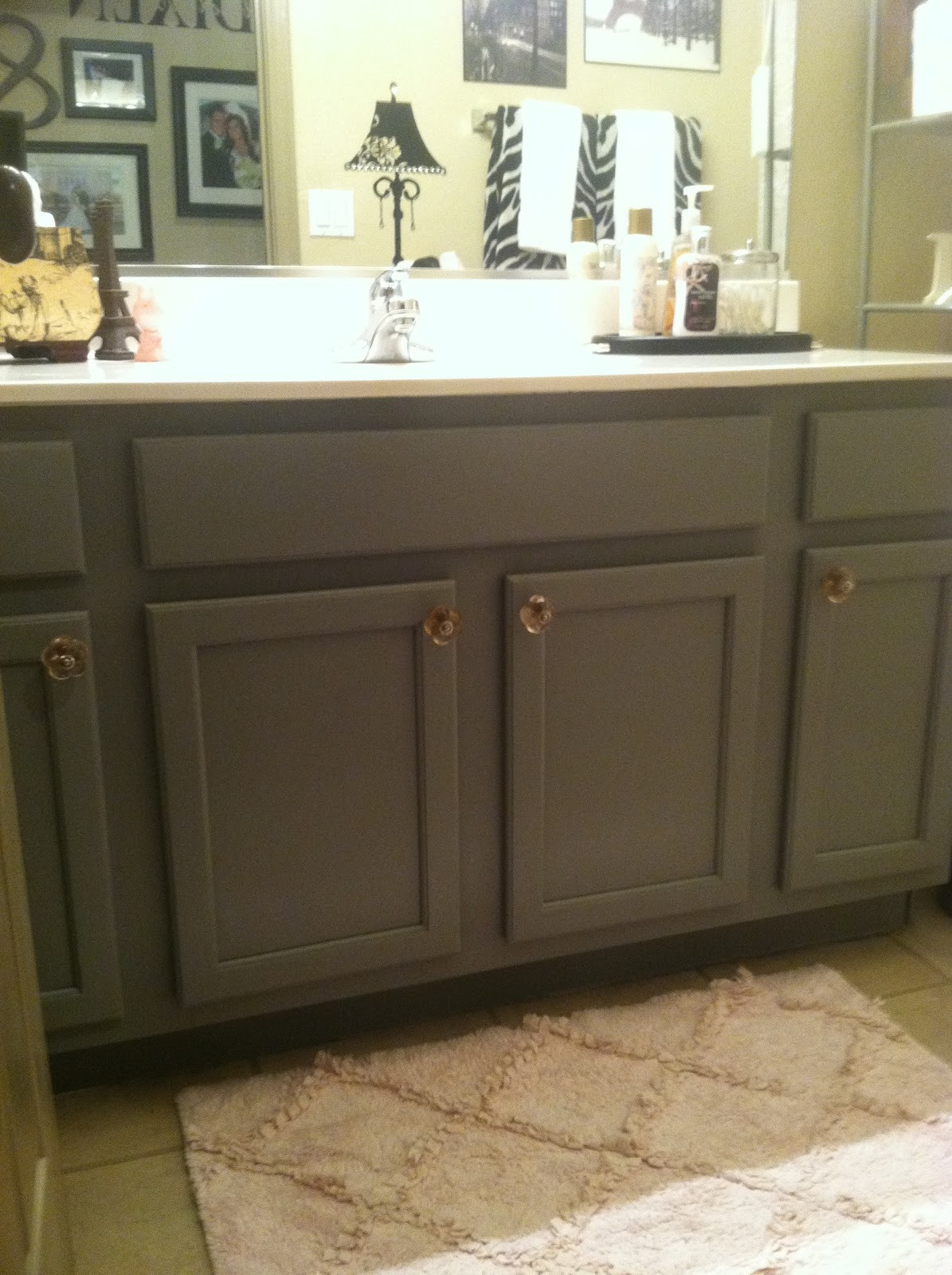 Painting Bathroom Cabinets  How to do a Cheap and Easy Bathroom Update ANYONE can do