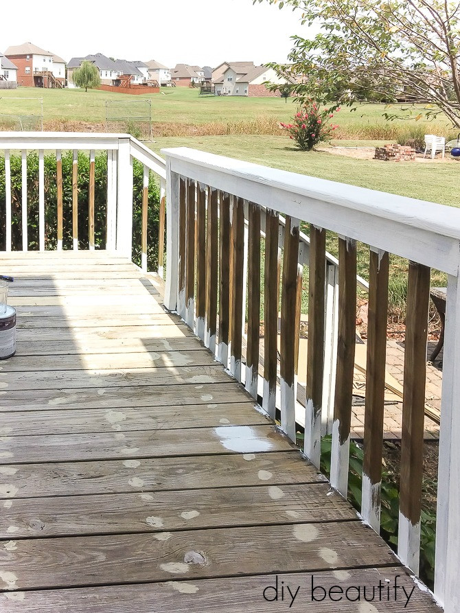 Painting Your Deck  How to Update a Deck with Paint