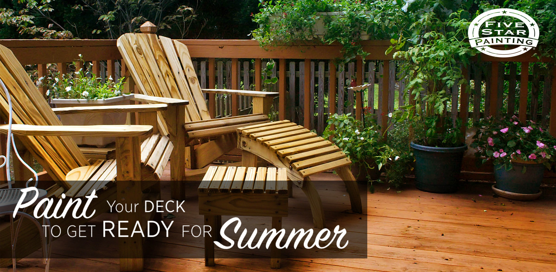 Painting Your Deck  Paint Your Deck to Get Ready for Summer