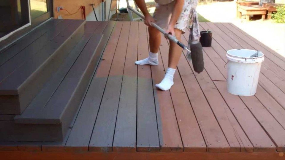 Painting Your Deck  11 Reasons Why People Like Youtube Staining Your Deck