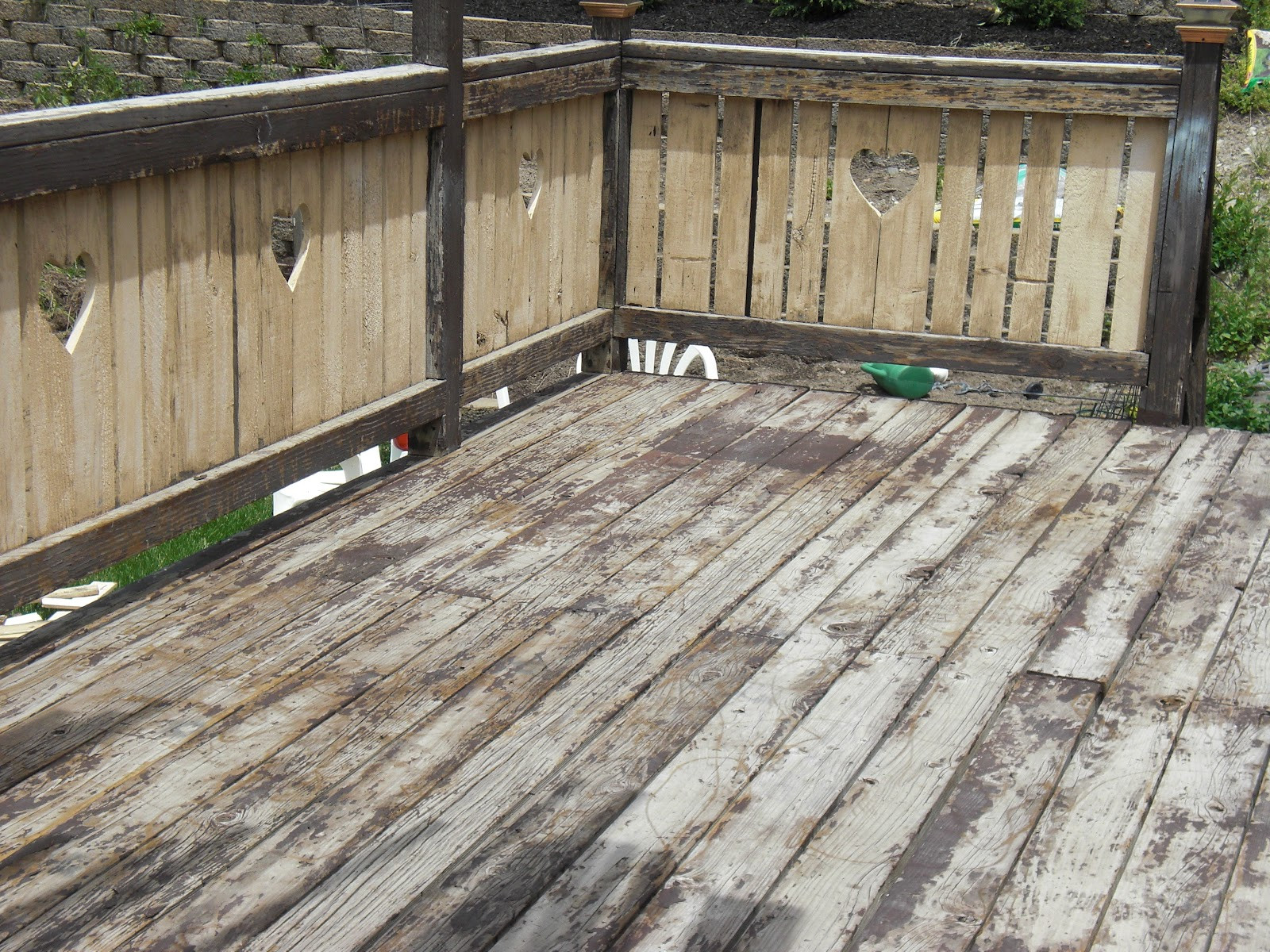 Painting Your Deck  So Yardtistic Revive your Deck with Restore Paint
