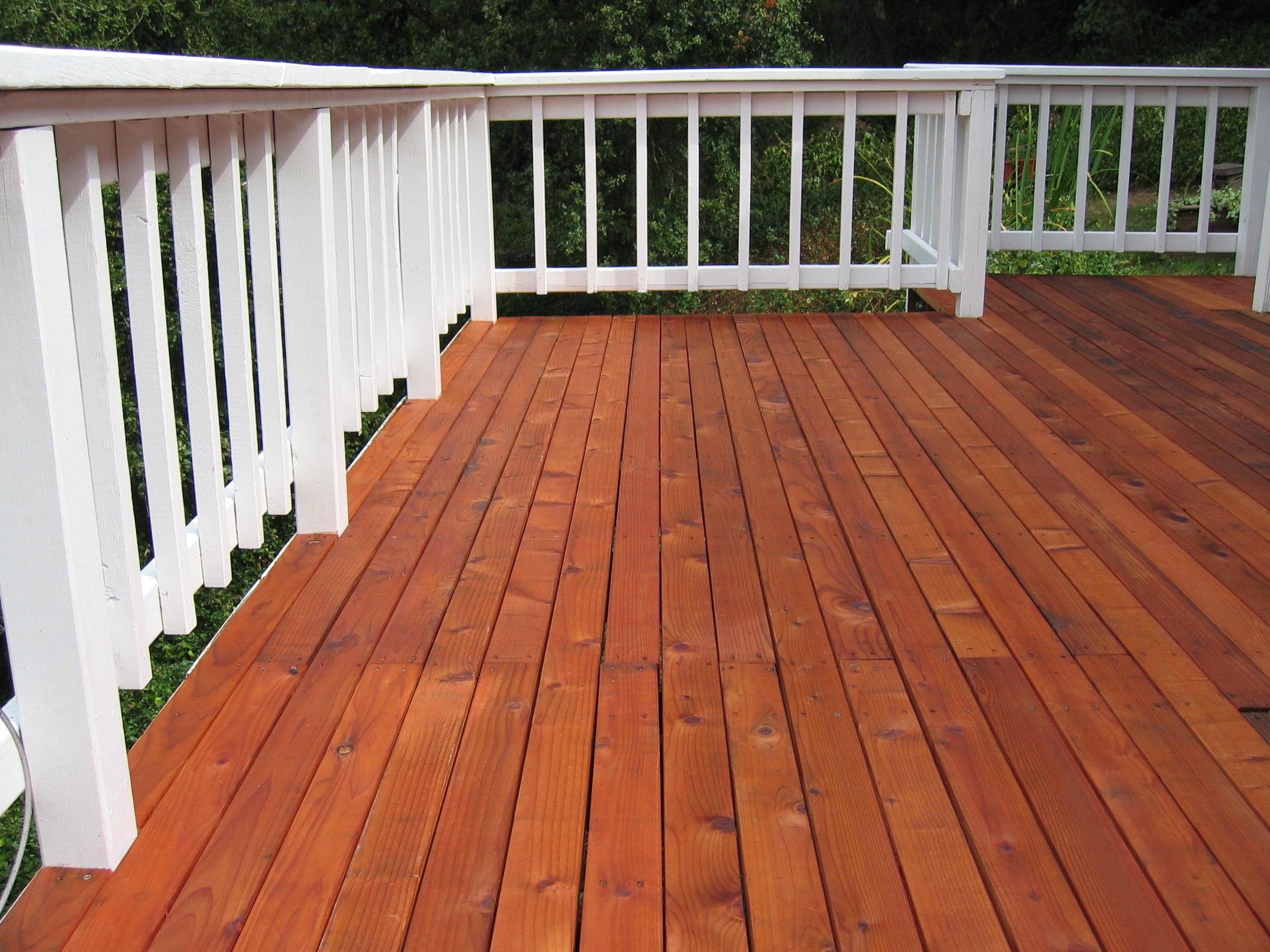 Painting Your Deck  Painting Versus Staining Your Deck