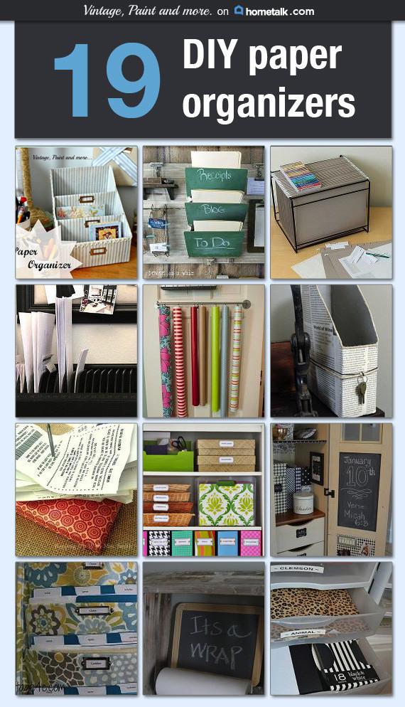 Paper Organizer DIY  Hometalk DIY Paper Organizer Board