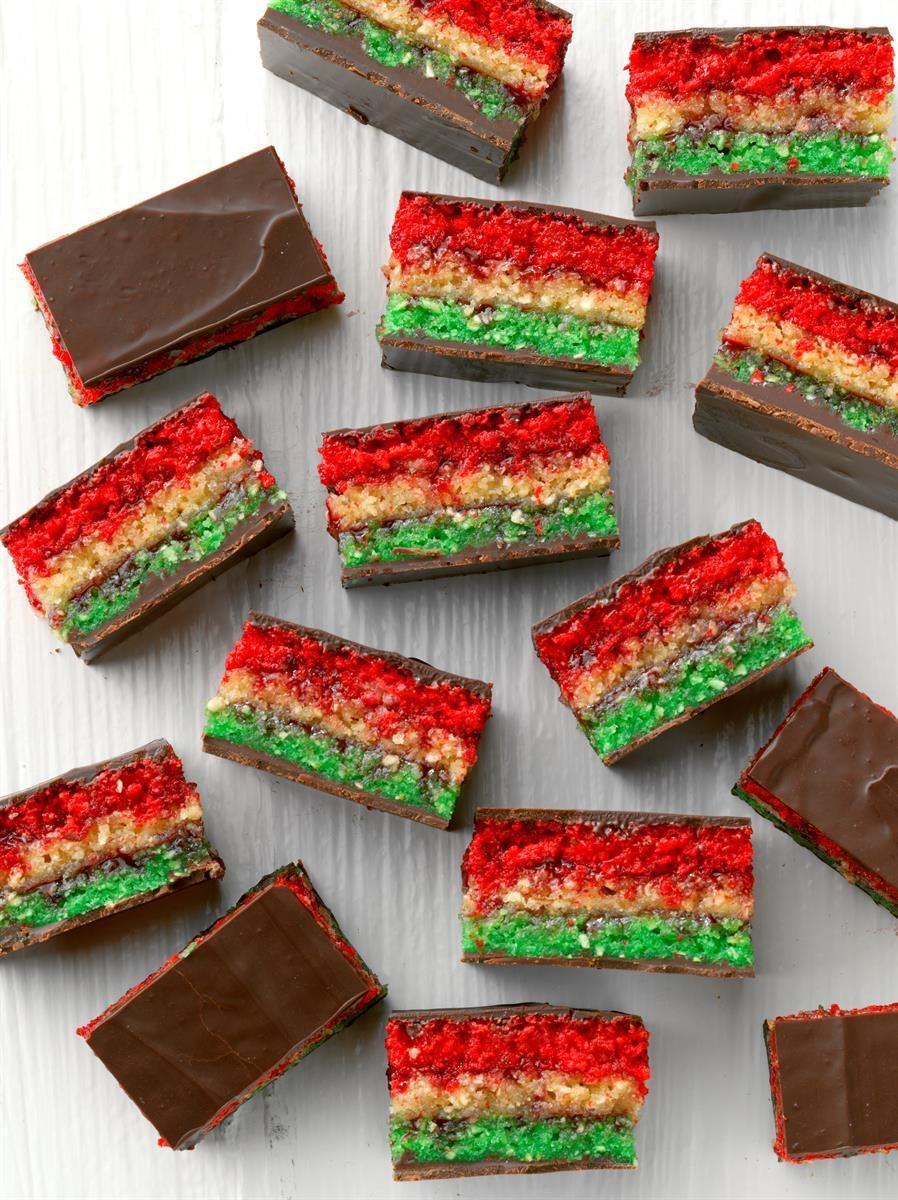 Passover Cookie Recipe  Passover Rainbow Cookies Recipe