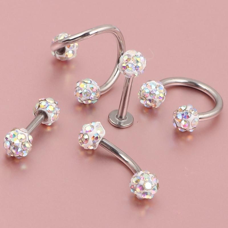 Peircings Body Jewelry  Aliexpress Buy 50pcs Wholesale Body Jewelry Lots